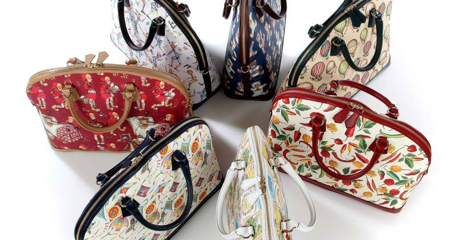 hand bags with Rossi italian designs
