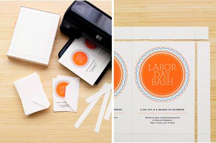 Digital stationery for inkjet or laser printing