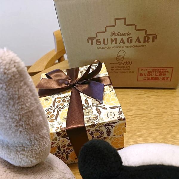 Tsumagari Patisserie Wrapping with Rossi1931 Decorative Papers